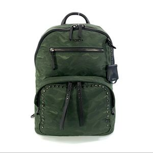 "Tumi Voyageur Hagen Backpack Green Camo 12"" Laptop"